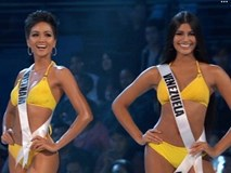 H'Hen Niê trình diễn bikini gợi cảm, tỏa sáng không kém Venezuela đêm bán kết Miss Universe 2018