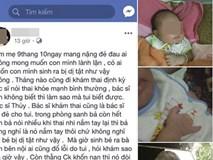 Chị em nghẹn ngào thương mẹ trẻ mới đẻ 20 ngày đã bị cả nhà chồng bỏ rơi vì sinh con dị tật