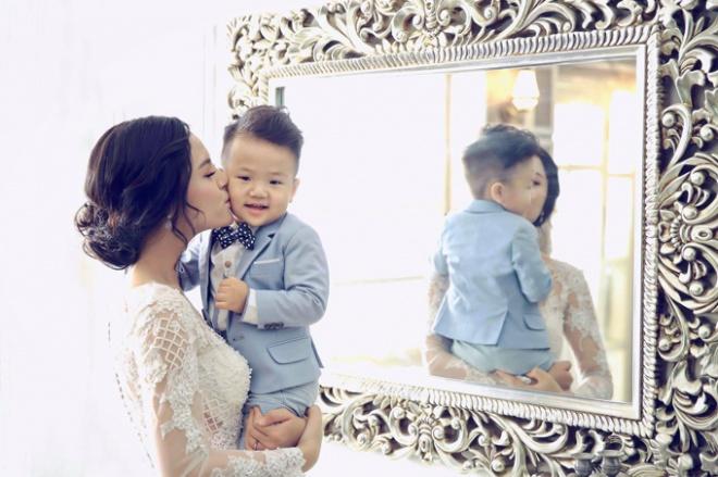 Bị chồng cũ Chí Nhân tố sống giả tạo, Thu Quỳnh: Tôi vẫn tin anh ấy hoàn toàn là một người bố tốt-5