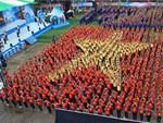 Lực lượng cảnh sát tinh nhuệ được bố trí bảo vệ 3.200 CĐV Malaysia tại sân Mỹ Đình-2
