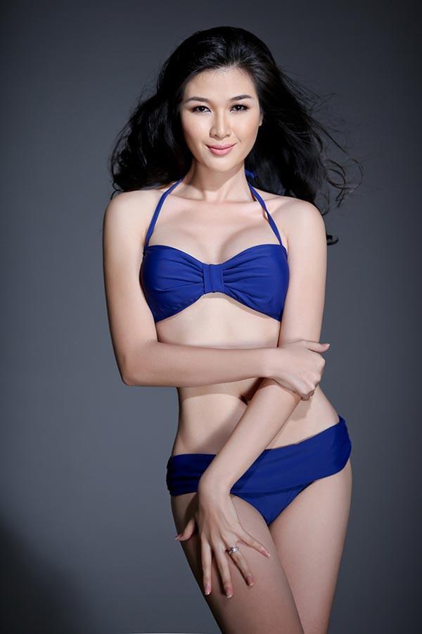 Á hậu gợi cảm, chịu nhiều áp lực khi trở thành vợ 2 của diễn viên Huy Khánh-6