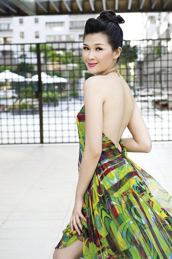 Á hậu gợi cảm, chịu nhiều áp lực khi trở thành vợ 2 của diễn viên Huy Khánh-1
