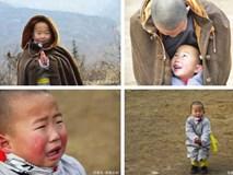 Tiểu hoà thượng 3 tuổi ở Thiếu Lâm Tự khiến cộng đồng mạng Trung Quốc phát cuồng vì đáng yêu