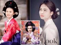 Ảnh chế cầu thủ Việt Nam hoá thành mỹ nhân cổ trang Hàn Quốc