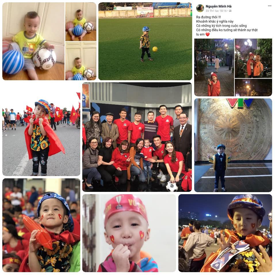 Quang Hải, Đức Chinh bật khóc trong cuộc gặp gỡ xúc động với cậu bé 4 tuổi bị ung thư não trước trận chung kết AFF Cup 2018-4
