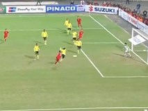 TRỰC TIẾP Việt Nam vs Malaysia: Anh Đức volley ghi bàn mở tỷ số