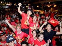 Dàn sao Việt vỡ òa khi đội tuyển Việt Nam ghi bàn thắng