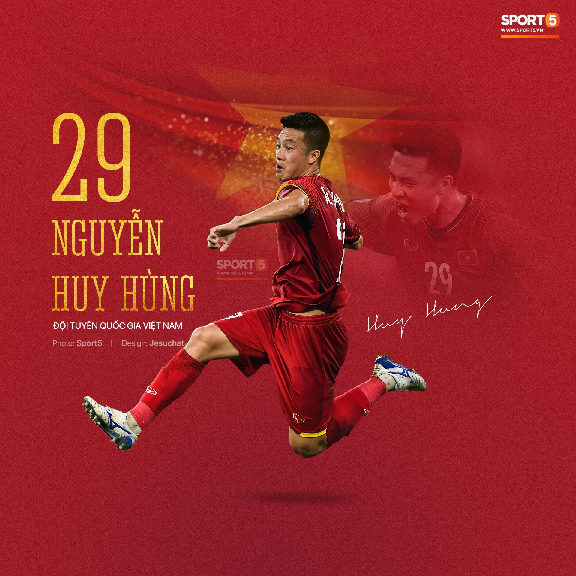 Info long lanh của 23 nhà vô địch AFF Cup 2018, những người hùng dân tộc-13