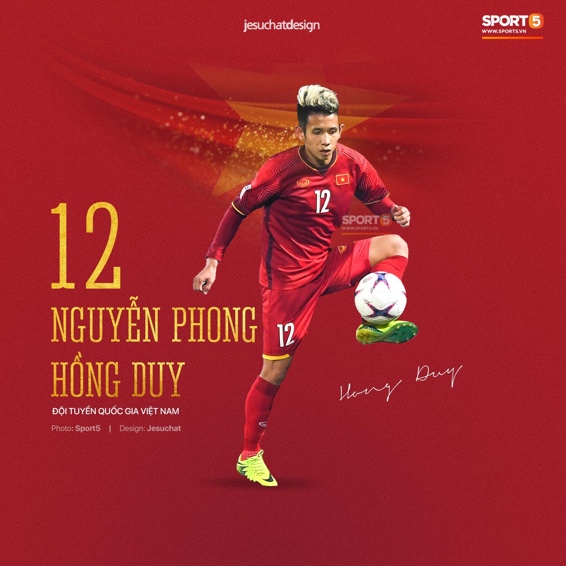Info long lanh của 23 nhà vô địch AFF Cup 2018, những người hùng dân tộc-16