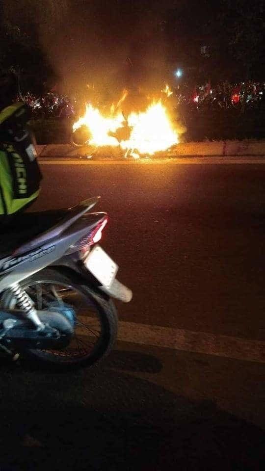 Đi 'bão đêm' ở Sài Gòn, nam thanh niên bị xe bồn cán chết-2