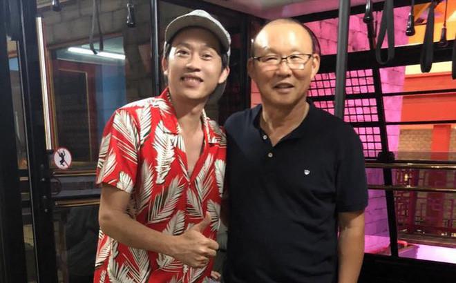 Nghệ sĩ Hoài Linh: Cảm ơn bầu Đức, cảm ơn Park Hang-seo và đội tuyển-1