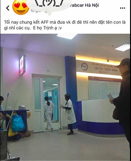 Trịnh Trọng Tuyên Bố Việt Nam Vô Địch! - cái tên hút hàng chục nghìn like dành cho ông bố nhờ dân mạng đặt tên cho con đúng hôm chung kết AFF Cup-1