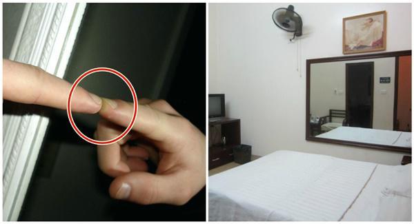 """Vạch mặt loại gương đặc biệt nhà nghỉ, khách sạn thường dùng để quay trộm"""" khách-2"""