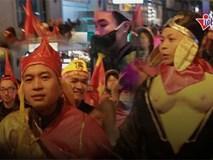'Thầy trò Đường Tăng' đi bão mừng tuyển Việt Nam đoạt cúp vô địch