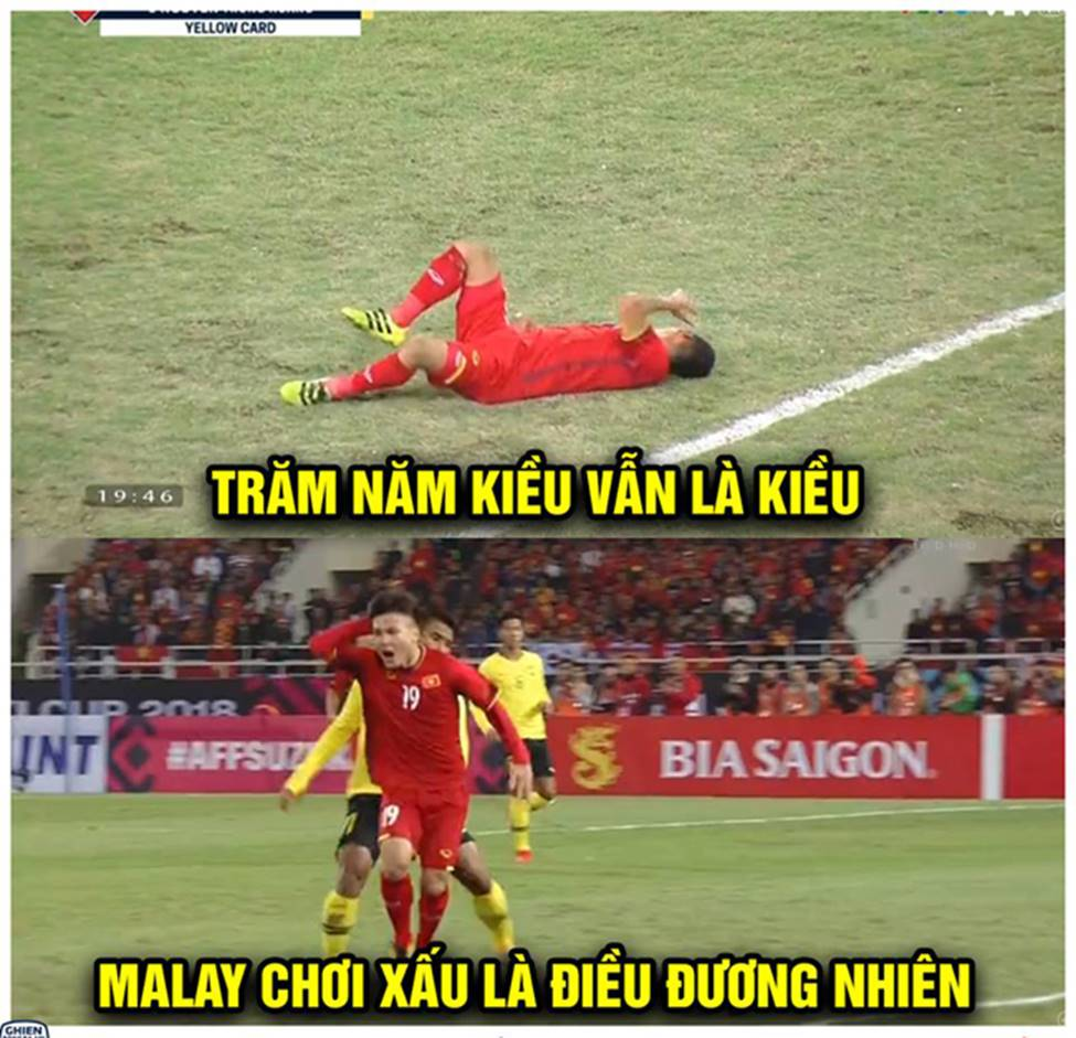 Ảnh chế ăn mừng chức vô địch AFF Cup 2018 của đội tuyển Việt Nam-10