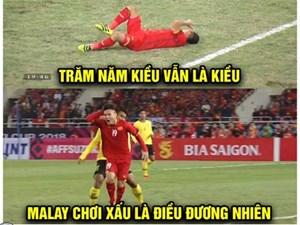 Ảnh chế ăn mừng chức vô địch AFF Cup 2018 của đội tuyển Việt Nam