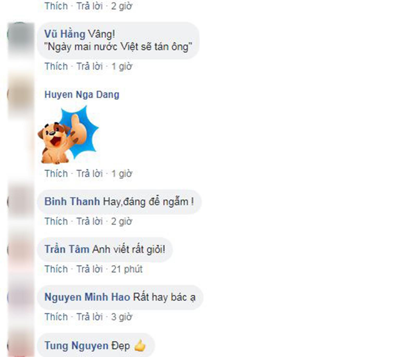 Người hâm mộ làm thơ tặng HLV Park Hang-seo gây sốt mạng xã hội-2