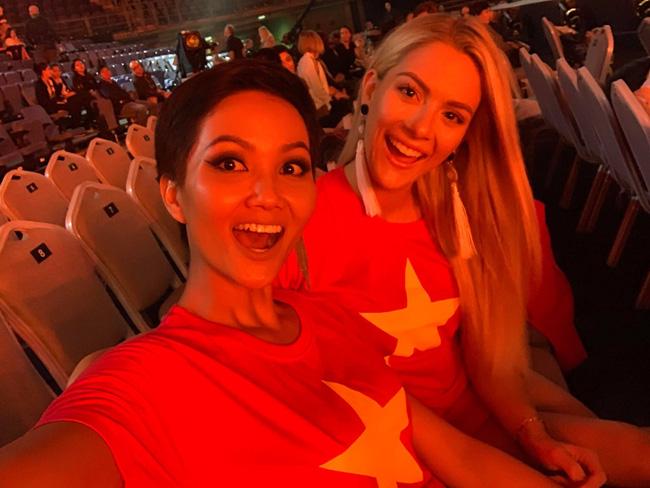 Vận đỏ của bóng đá Việt Nam sẽ giúp HHen Niê làm nên kì tích tại Miss Universe 2018?-6