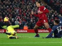 Đè bẹp Man Utd, Liverpool trở lại ngôi đầu Premier League