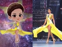 Trước giờ G, cùng ngắm lại bộ ảnh chibi tuyệt đẹp của H'hen Niê tại Miss Universe