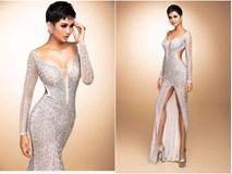 Cận cảnh chiếc váy 3000 viên đá quý như kim cương giúp H'Hen Niê làm nên kỳ tích