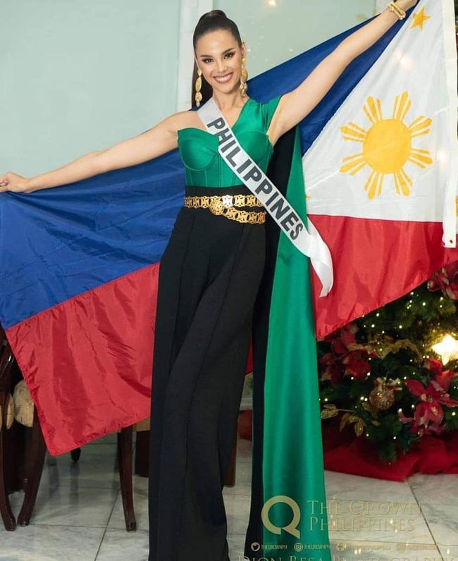 Style của tân Hoa hậu Hoàn vũ Catriona Gray: từ đầu đến cuối đều lộng lẫy như bà hoàng-3