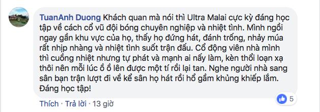 CĐV Việt Nam kêu gọi cấm kèn vuvuzela, trả lại bầu không khí trong sạch cho sân Mỹ Đình, đồng thời học hỏi cách cổ vũ chuyên nghiệp của Malaysia-8