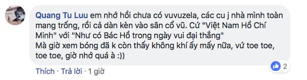 CĐV Việt Nam kêu gọi cấm kèn vuvuzela, trả lại bầu không khí trong sạch cho sân Mỹ Đình, đồng thời học hỏi cách cổ vũ chuyên nghiệp của Malaysia-13