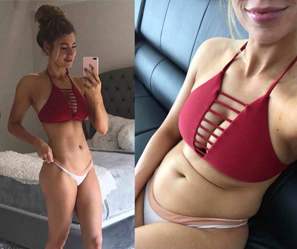 Sự thật gây sốc của gái xinh trên mạng xã hội-3