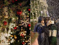 Trường ĐH con nhà giàu này là trường trang trí Noel đẹp nhất VN, có máy phun tuyết nhân tạo, tha hồ sống ảo