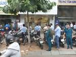 Thanh niên say rượu đốt xe máy tại trạm xăng-1