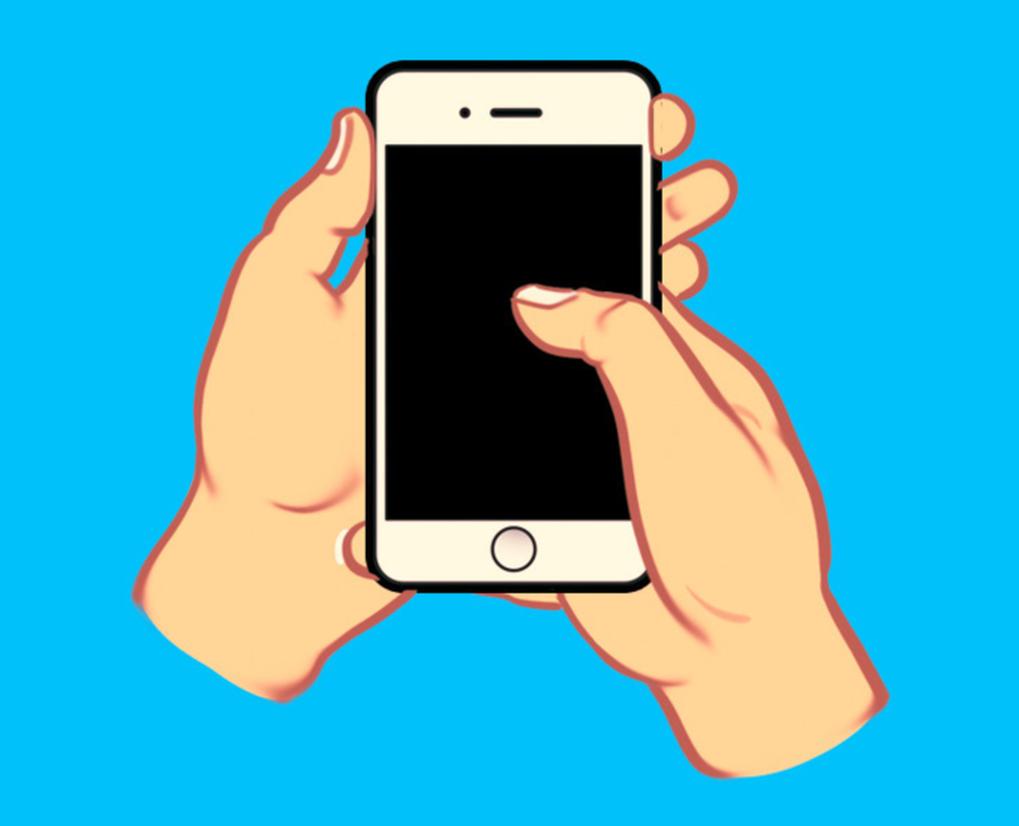 Cách cầm điện thoại thông minh có thể nói nhiều về tính cách của bạn-3