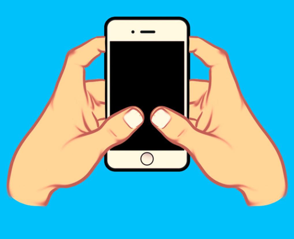Cách cầm điện thoại thông minh có thể nói nhiều về tính cách của bạn-4