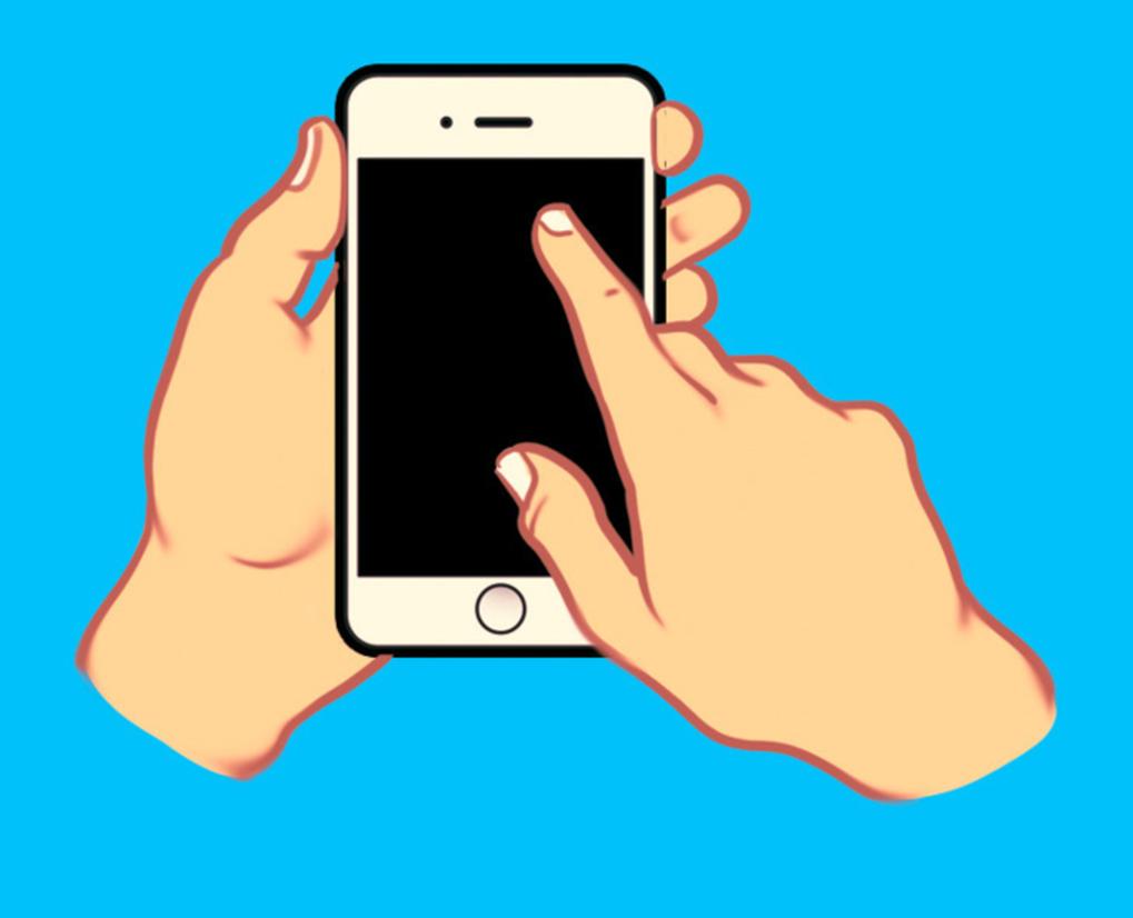 Cách cầm điện thoại thông minh có thể nói nhiều về tính cách của bạn-5