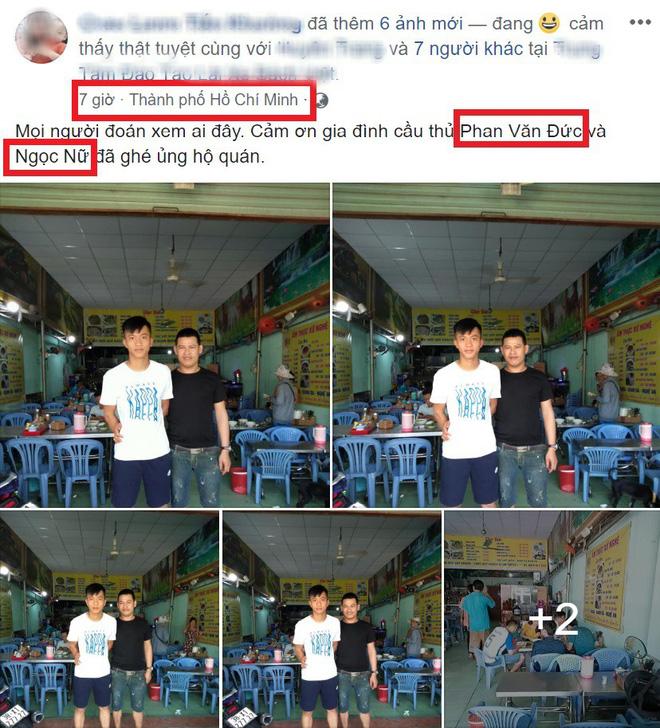 Phan Văn Đức cùng bạn gái tin đồn Ngọc Nữ bị bắt gặp cùng nhau đi ăn ở Sài Gòn-2