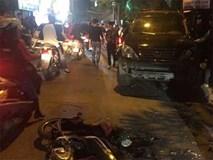 Nữ lái xe Lexus đâm 6 người bị thương có biểu hiện sử dụng rượu, bia