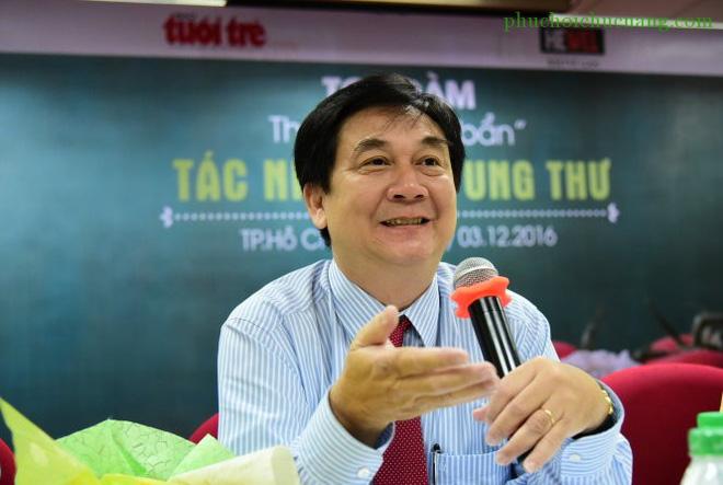 Giám đốc BV Ung bướu cảnh báo: Căn bệnh ung thư nguy hiểm đứng số 1 ở Việt Nam-1