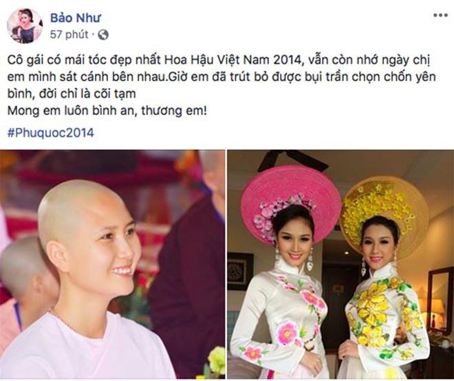 Xôn xao thông tin người đẹp Hoa hậu Việt Nam lấy chồng sau hơn 2 tháng tuyên bố đi tu-2