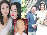 Ảnh hiếm thí sinh HHVN 2014 từng cạo đầu đi tu đội tóc giả, rạng rỡ trong đám cưới với chồng đại gia