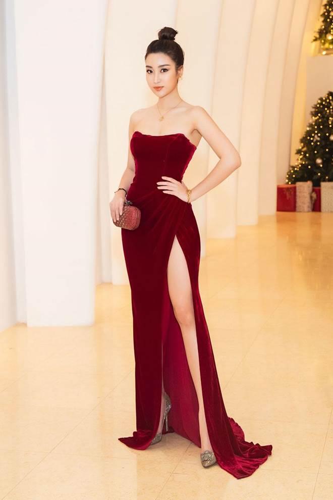 Không còn là Hoa hậu nghèo nhất VBiz, Đỗ Mỹ Linh mang trang sức tiền tỷ thắp sáng thảm đỏ-3