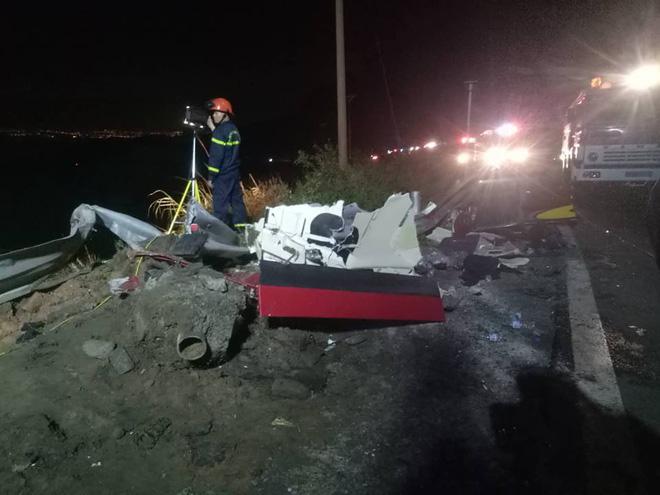 Xe bồn lao xuống vực, nổ lớn rồi bùng cháy sau va chạm trên đèo Hải Vân, tài xế tử vong-8