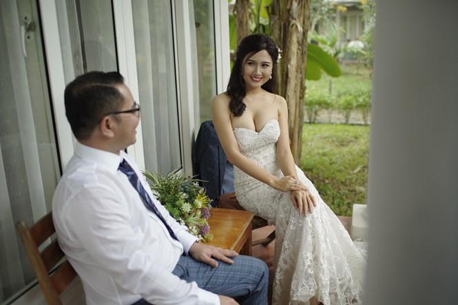 Người đẹp Hoa hậu Việt Nam từng xuất gia lên tiếng về nghi án giật chồng-2