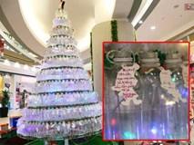 Những điều ước giản đơn trên cây thông Noel làm bằng vỏ chai nhựa ở Sài Gòn: