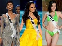 Trước H'Hen Niê, 10 người đẹp Việt từng dự thi Miss Universe là ai?