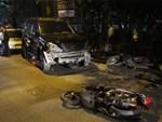 Vụ lái xe Lexus gây tai nạn liên hoàn ở Hồ Tây: Nữ giáo viên có nguy cơ mất chân phải vĩnh viễn-3