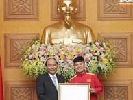 Quang Hải được Thủ tướng trao tặng Huân chương Lao động hạng Nhì