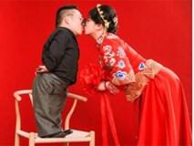 Vượt qua mọi rào cản, cô gái Trung Quốc quyết lấy chồng cao 90cm khiến cả MXH xôn xao
