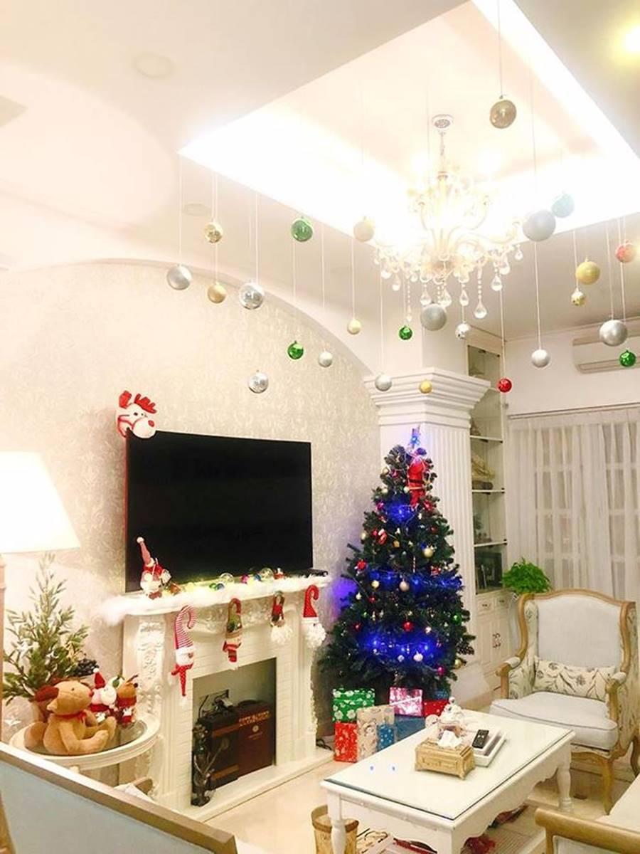 Sao Việt nô nức trang hoàng nhà cửa chờ đón Giáng sinh-12