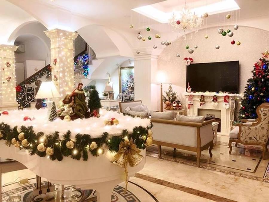 Sao Việt nô nức trang hoàng nhà cửa chờ đón Giáng sinh-13
