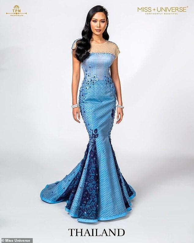 """Hot girl"""" mạng xã hội đối mặt án tù vì chê váy do công chúa Thái Lan thiết kế-2"""